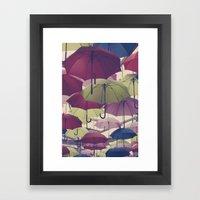 Why Does It Always Rain … Framed Art Print