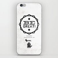 Be Great. iPhone & iPod Skin