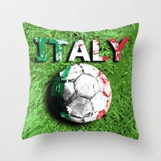 Old football (Italy) Throw Pillow