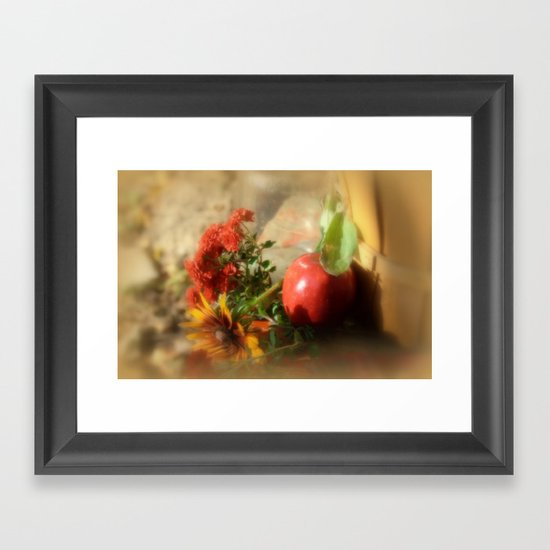 The Hidden Fence Framed Art Print