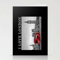 Black And White London W… Stationery Cards