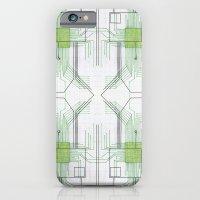 Circuit Board Green Repe… iPhone 6 Slim Case