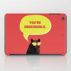 Unbearable iPad Case
