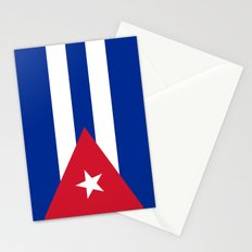 Flag of Cuba - Banner version (High Quality Image) Stationery Cards