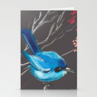 Little Blue Fairy Stationery Cards