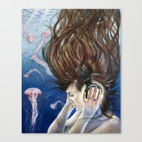 Deep Sounds Canvas Print