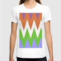 chevron T-shirts featuring Chevron by Saundra Myles