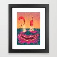 Fisgados Framed Art Print