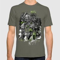 Abstractness Mens Fitted Tee Lieutenant SMALL