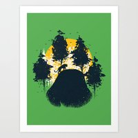 Wildlife Habitat Art Print