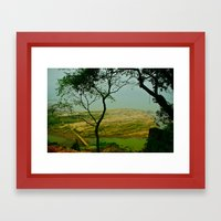 Peaceful Place Framed Art Print