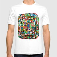 Planet of all good people Mens Fitted Tee White SMALL