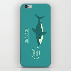 Sharkasm iPhone & iPod Skin
