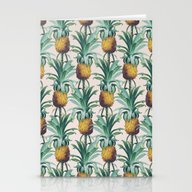 Pineapple Trellis Stationery Cards