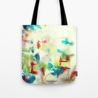 Tote Bag featuring Composition 1816 by Tina Carroll