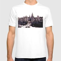 Funkytown - New York City Mens Fitted Tee White SMALL
