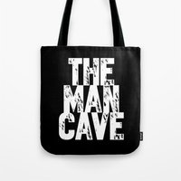 The Man Cave - Inverse Tote Bag