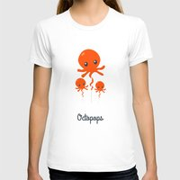 octopus T-shirts featuring Octopus by Jane Mathieu