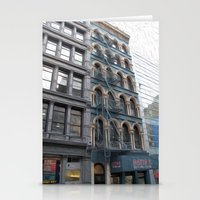 Fire Escape Stationery Cards