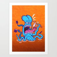 Extreme Cooking Art Print