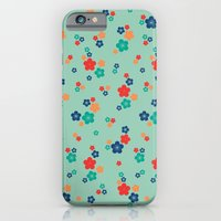 Blossom Ditsy In Grayed … iPhone 6 Slim Case