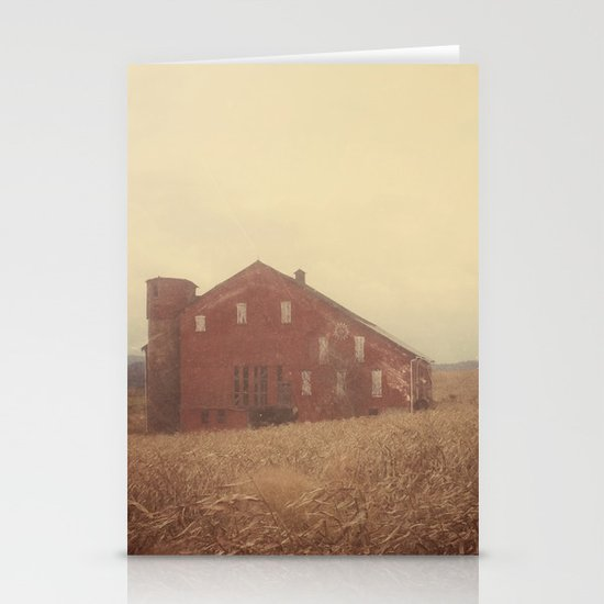 Autumn Farm Stationery Card
