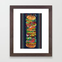 Grandwich Framed Art Print