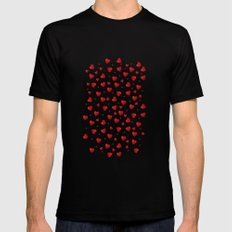 Sweet Heart Mens Fitted Tee SMALL Black