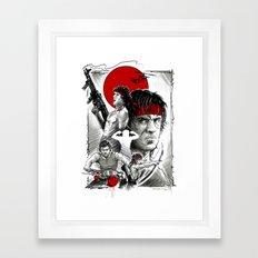 RAMBO Framed Art Print