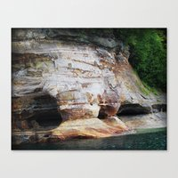 Rocky Caverns Canvas Print