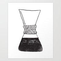 Chemex Coffee Art Print