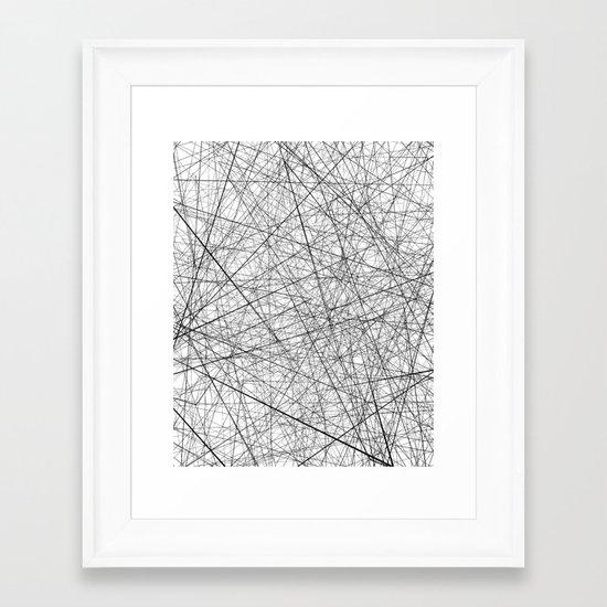 Lineric Framed Art Print