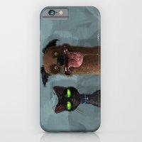 iPhone & iPod Case featuring Cat is not impressed by Caro Bernardini