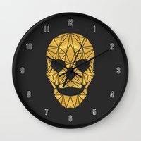 The Golden Child Wall Clock