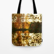 Reflection In October Tote Bag