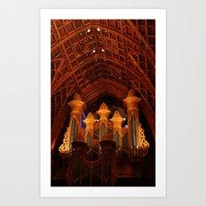 Pipe Organ Art Print