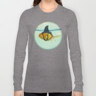 Long Sleeve T-shirt featuring Brilliant DISGUISE by Vin Zzep