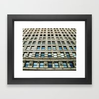 window seat Framed Art Print