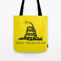 Don't Tread On Me -The Gadsden Flag Tote Bag