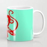 Red Monkey Mug