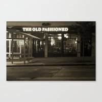 Old Fashioned Restaurant… Canvas Print