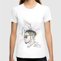 Wish A Rocking Easter! Womens Fitted Tee White SMALL
