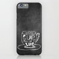 Cup Full Of Love Chalkboard iPhone 6 Slim Case