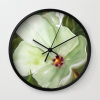 Flower One Wall Clock