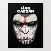 Hail Caesar Canvas Print