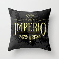 Harry Potter Curses: Imperio Throw Pillow