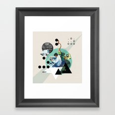 Hackers Framed Art Print