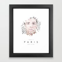 Paris & Me Framed Art Print