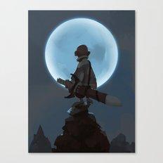 Child of Night Canvas Print