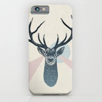 iPhone & iPod Case featuring Stag by Sam Scales